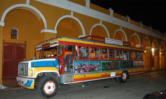 Chiva Bus Party Tour