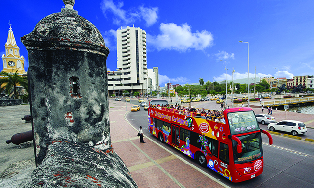 Cartagena City Hop On Hop Off Tour