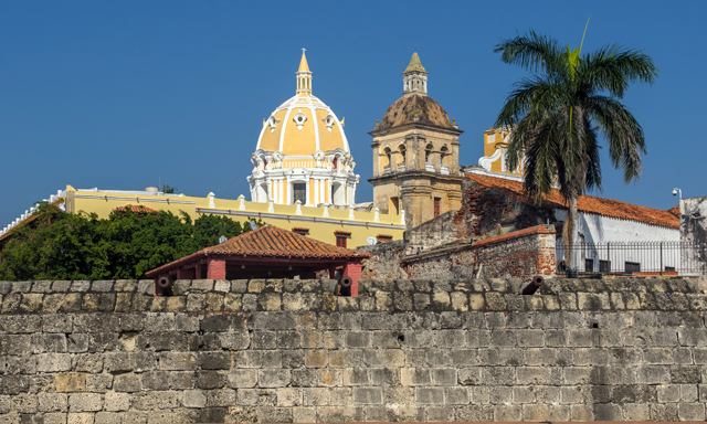 Amazing Cartagena Bay and Walled City