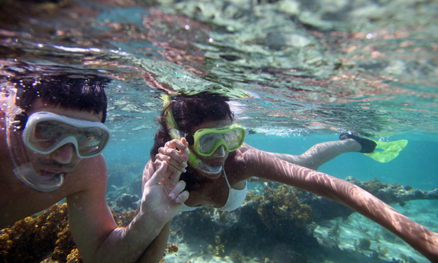 Cruise and Snorkel at Marine Park