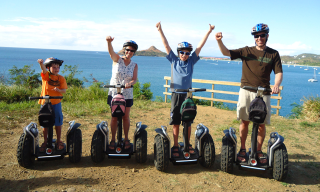 Segway Sightseeing and Beach Fun