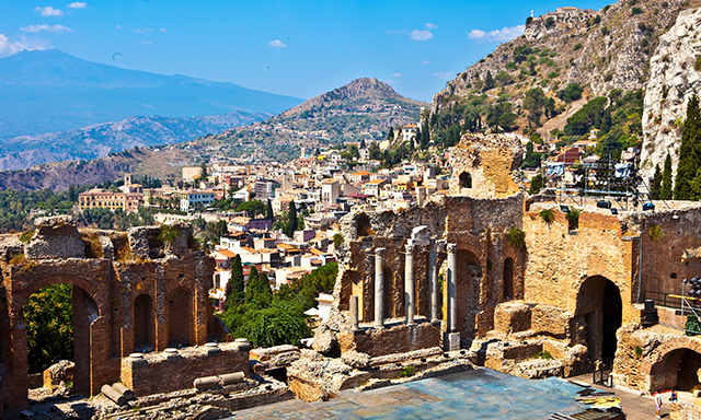 Taormina, Lava River, Wine & Jewels
