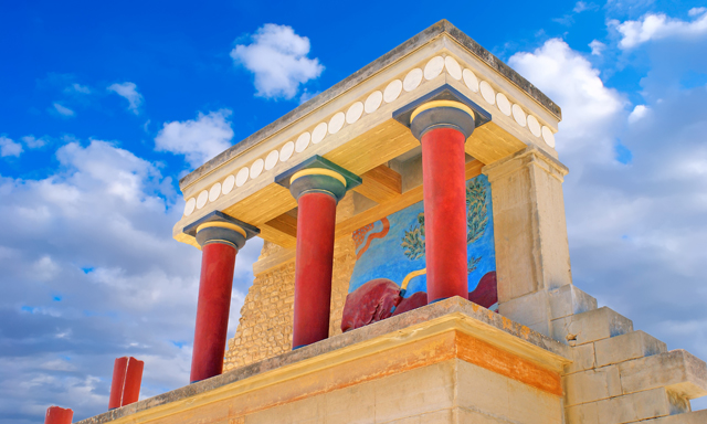 Knossos Palace and Heraklion Town