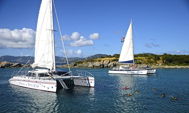 Buck Island Catamaran Two-Stop Sail and Snorkel