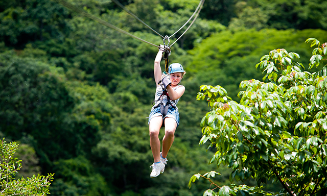 Canopy Zipline Adventure to Tortola and Island Drive