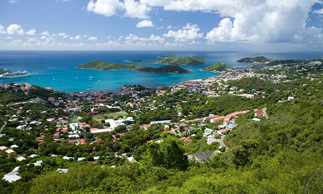 St. Thomas Scenic Harbor Cruise and Shopping