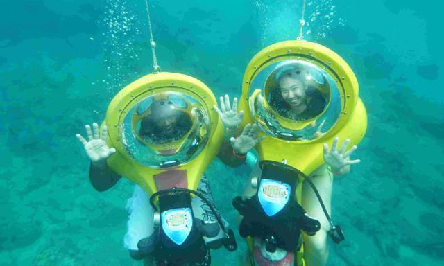 BOSS Underwater Adventure