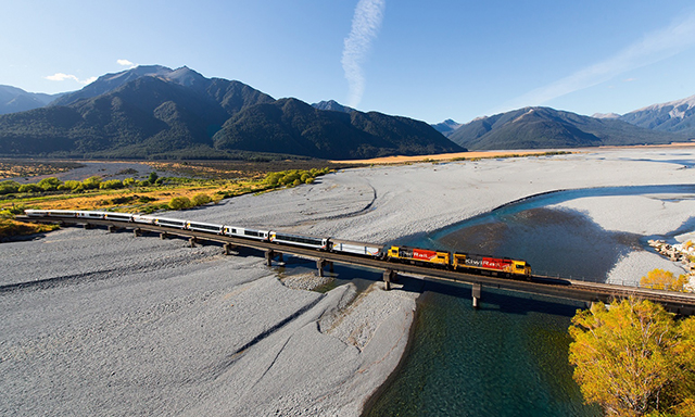 Southern Alps Express Train