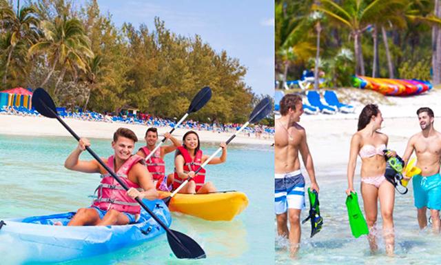 Kayak Adventure and Snorkel Combo