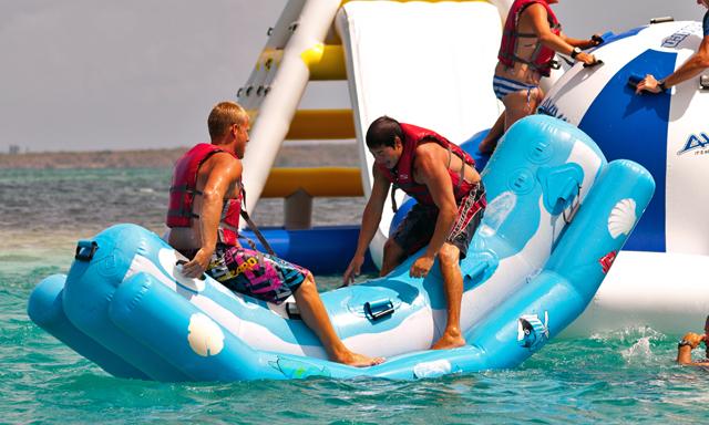 Aqua Park / Water Slide Combo