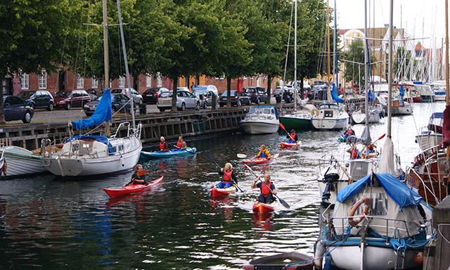Copenhagen by Kayak