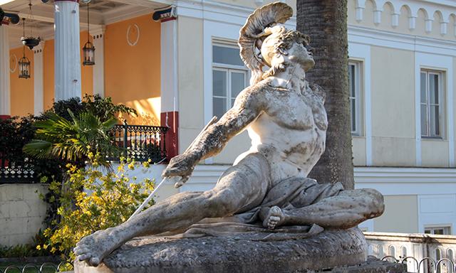 Achilleion Palace, Perama & Old Town