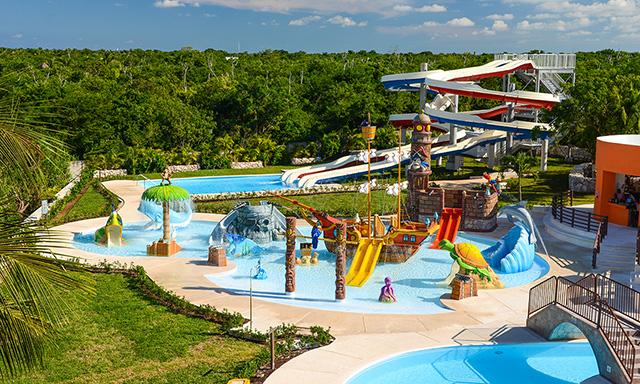 Deluxe Beach Break and Playa Mia Water Park