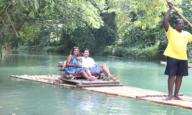 The Ultimate Bamboo Rafting Experience