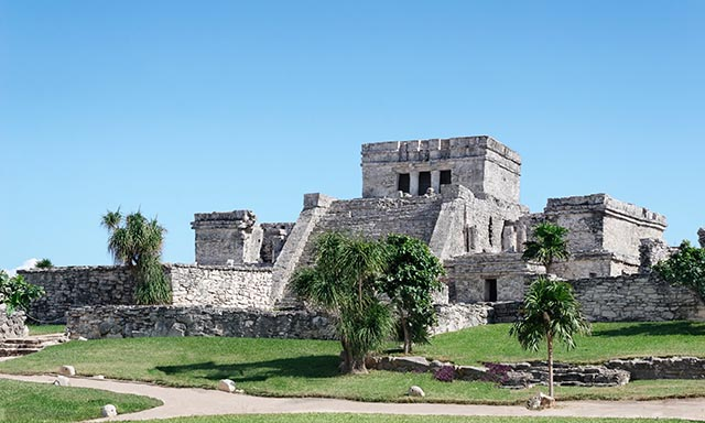 A Tulum Ruins & Playa del Carmen at Leisure