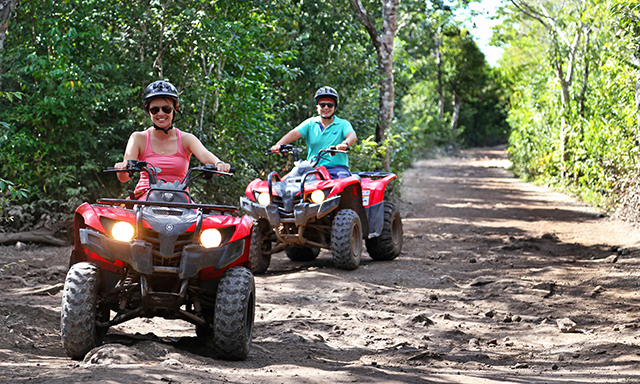 ATV and Beach Club Adventure