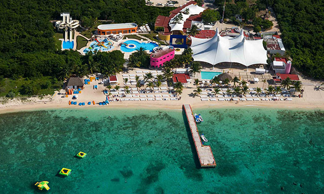 Deluxe Beach Break and Playa Mia Water Park