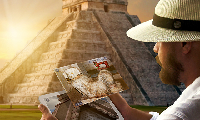 Chichen Itza Mayan Ruins Featuring Mixed Reality