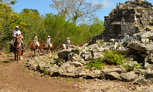 The Mayan Frontier by Horseback & Ecolounge Beach Break