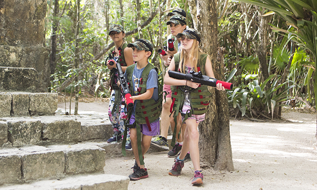 Mayan Laser Tag  with Chankanaab Park