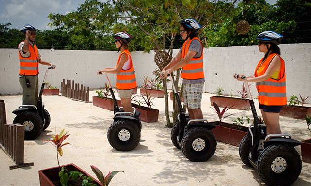 Mayan Village by Segway