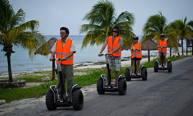 Segway Ride & Beach Combo
