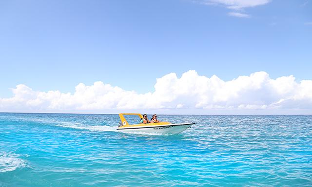 Speed Boat, Snorkel & Beach Adventure