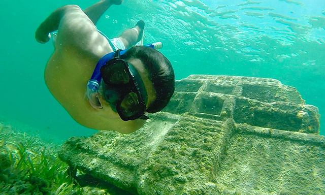 Submerged Mayan City & Beach Break