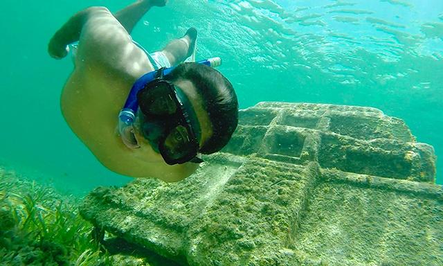 Submerged Mayan City & Beach Break