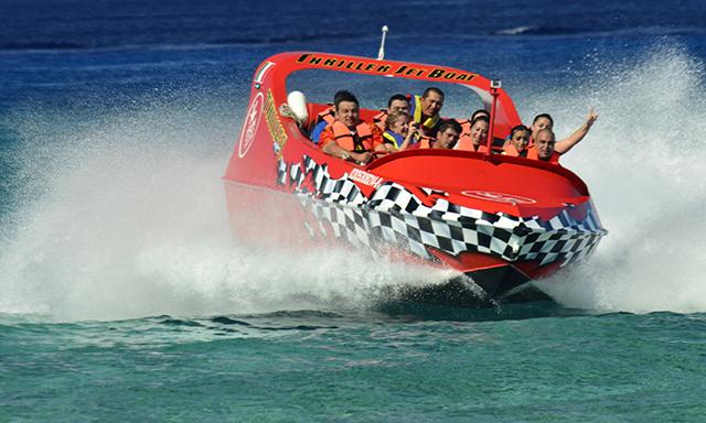 Thriller Jet Boat Ride