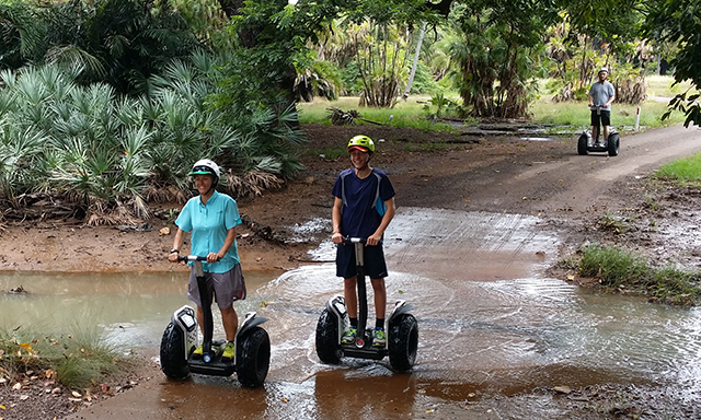 Segway Botanical Gardens Adventure