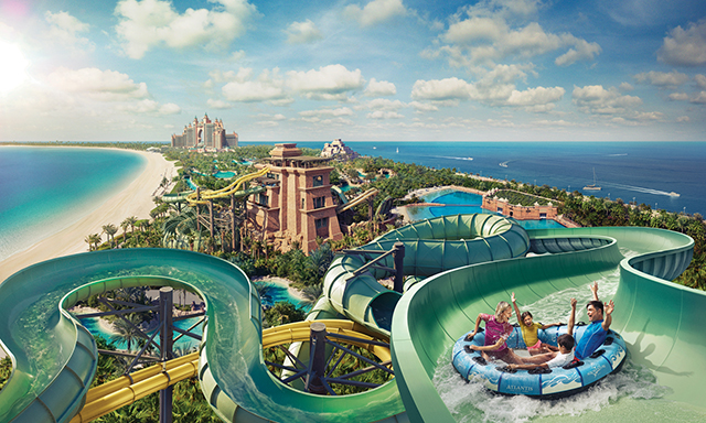 Atlantis Aquaventure Waterpark with Open Top Transfer