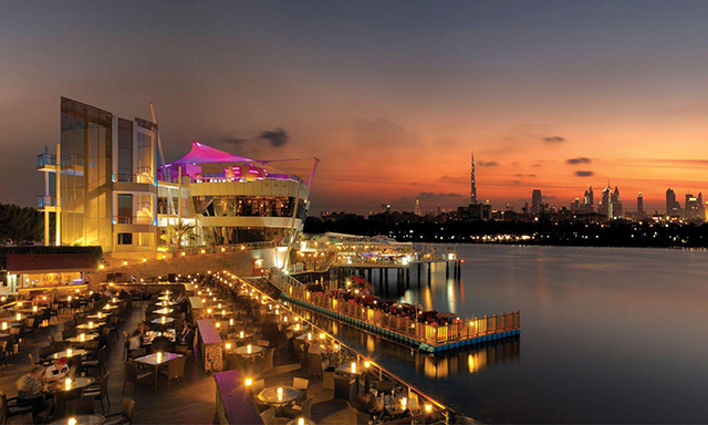 City Highlights & Dubai Creek Sunset