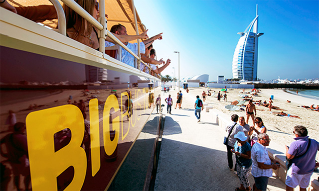 Big Bus Sightseeing Tour - Hop On/Hop Off