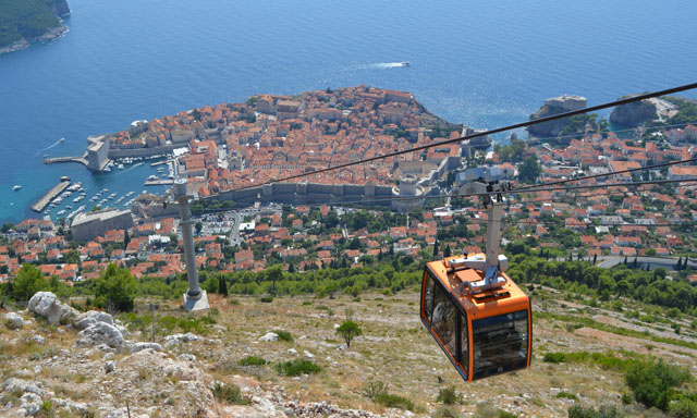 Dubrovnik by Cable Car for Families-Small Group