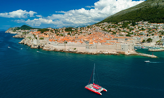 Old Town Catamaran Sail & Beach Break