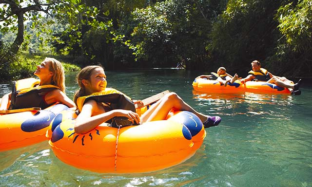 Inner Tubing and Cruise to Dunns River Falls