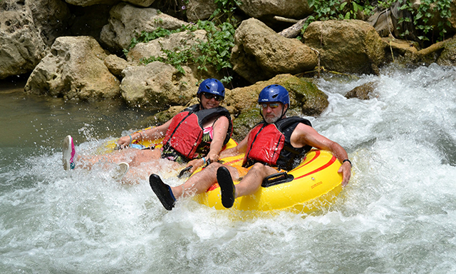Jungle River Tubing & Chill at Reggae Hill