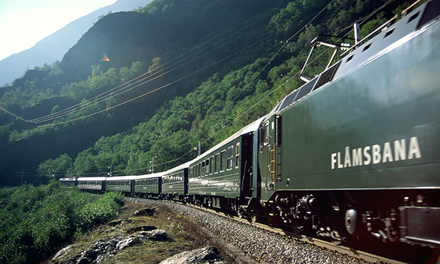 Leisurely Flam Railway