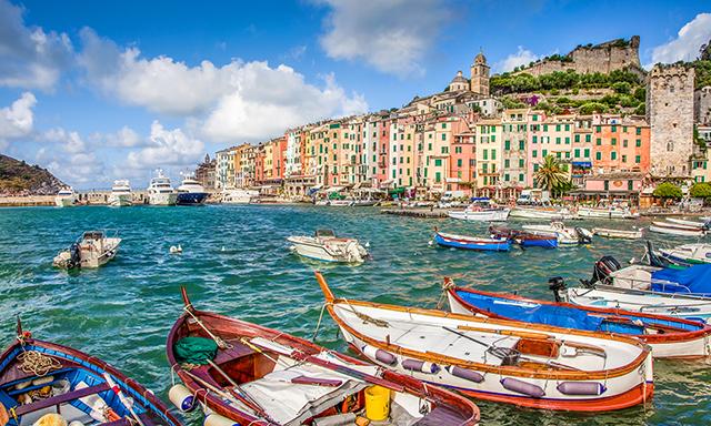 Coast of Cinque Terre & Portovenere