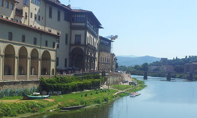 Florence and Row Boat Ride