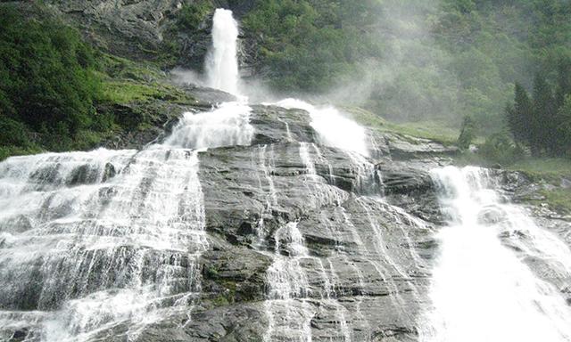 Kayak on Geirangerfjord
