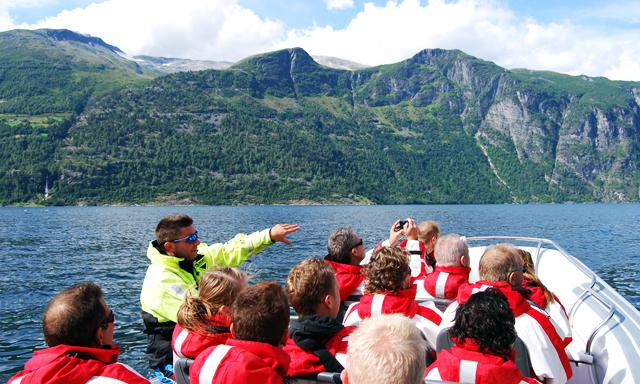 Rib Boat on Geirangerfjord