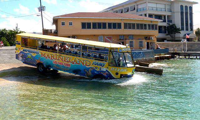 Amphibious Bus Land & Sea Adventure