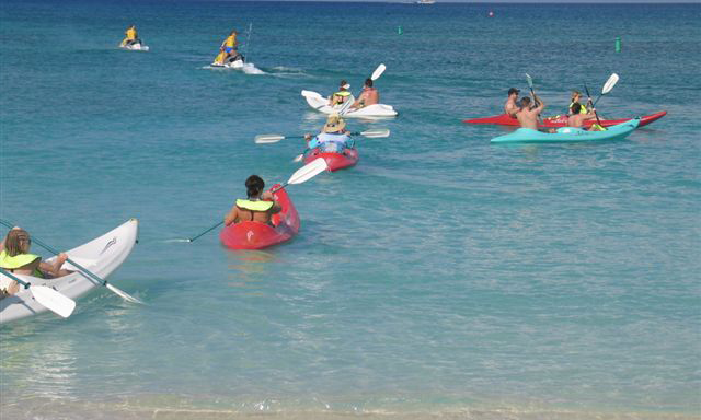 Kayak, Snorkel, and Beach Experience