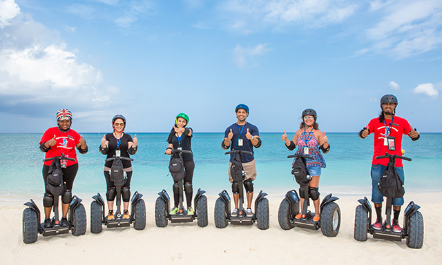 Segway & Seven Mile Beach Experience