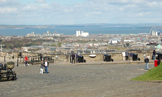 City Of Edinburgh and Castle