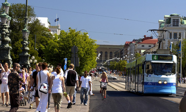 Gothenburg & Haga by Old Fashioned Tram