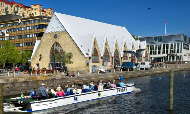 Panoramic Gothenburg & Canal Cruise