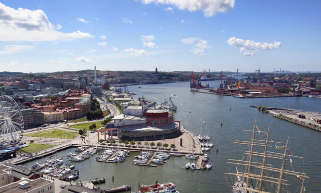 Panoramic Gothenburg